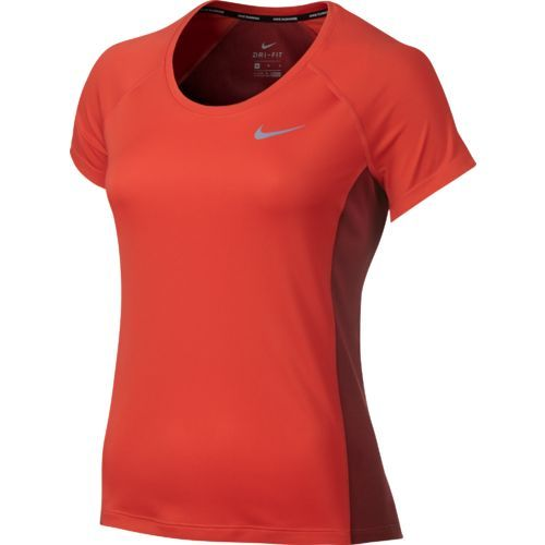 Nike Women's Dry Miler Running Crew Top (Vivid Sky, Size X Large) - Women's  Athletic Apparel, Women's Athletic Performance Tops at Academy Sports