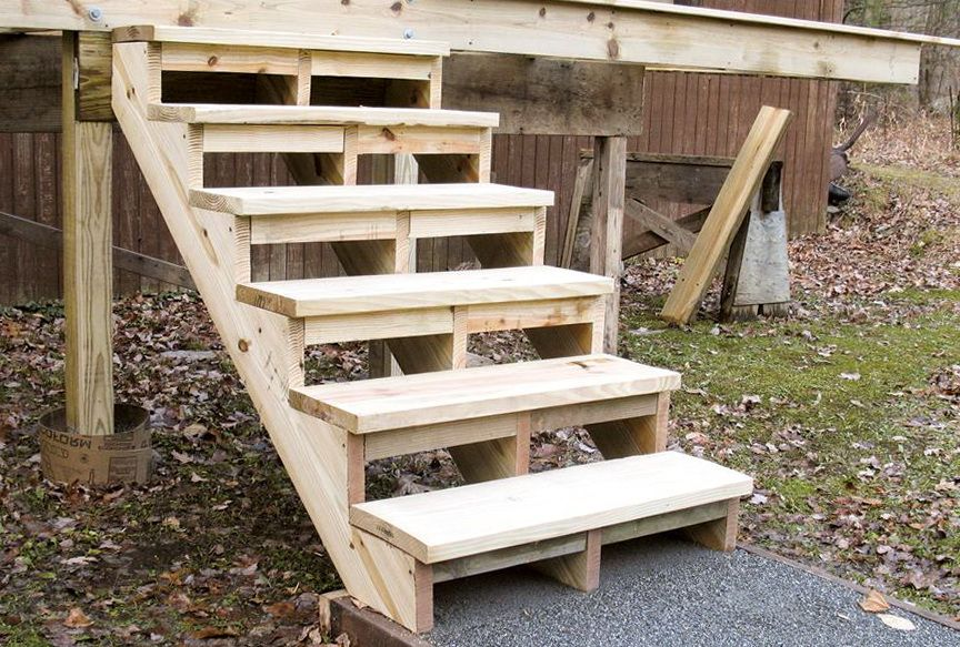 Bon Build Deck Stairs Pre Cut Stringers