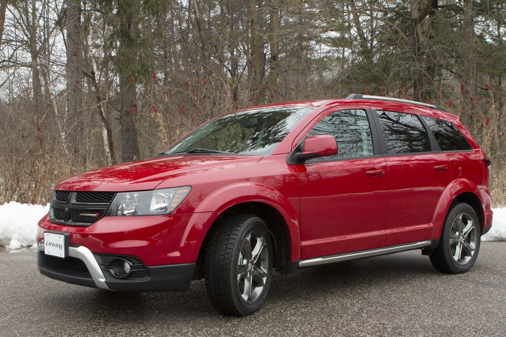 SUV Review 2015 Dodge Journey Crossroad AWD Dodge