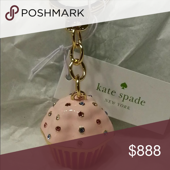 Kate spade cupcake Has anybody seen these at Kate spade these cute cupcakes if so does any body know how much? And when they came out kate spade Accessories Key & Card Holders