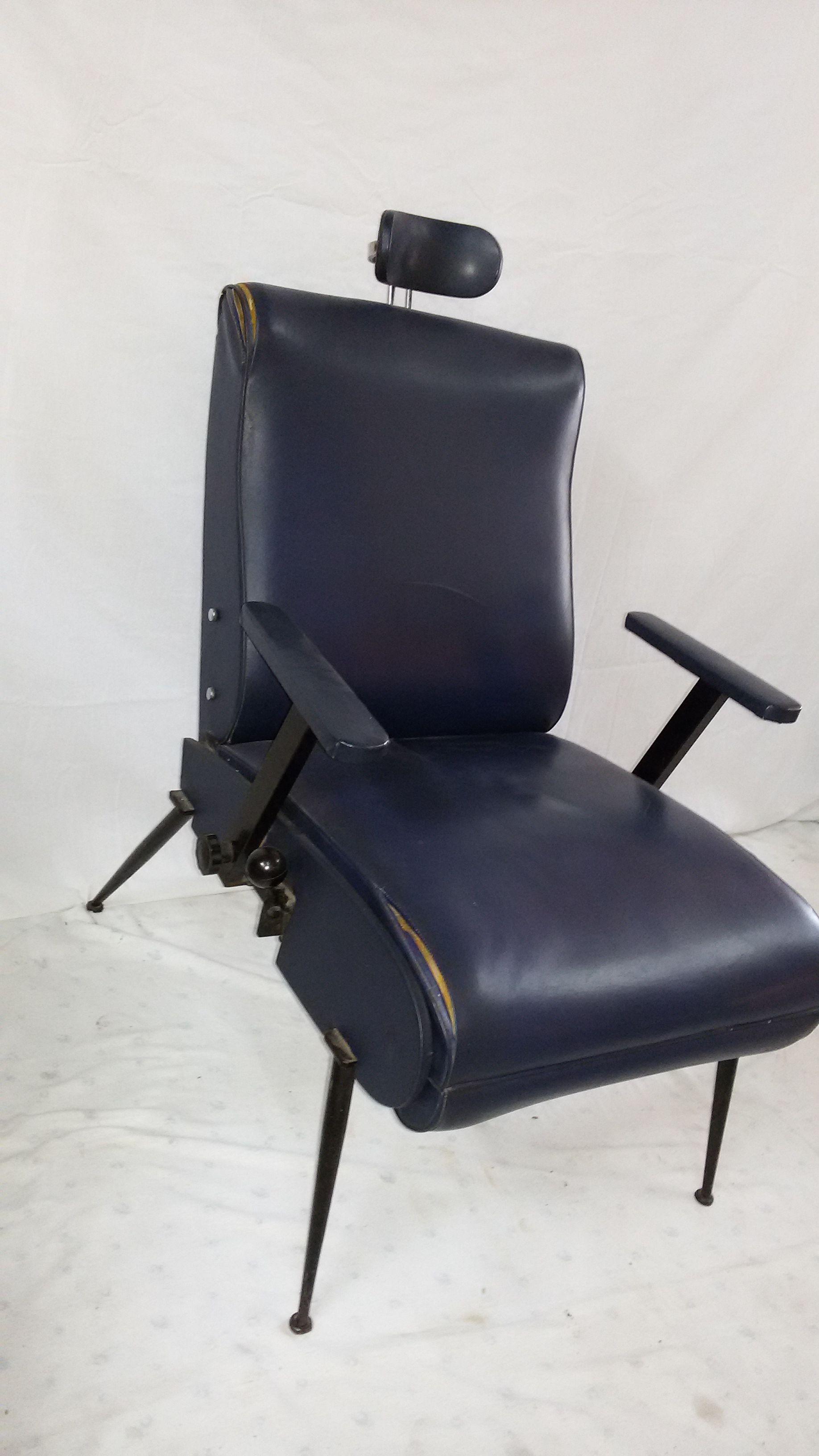 Sedie Reclinabili ~ Poltrona armchair reclinabile modernariato design style tecno