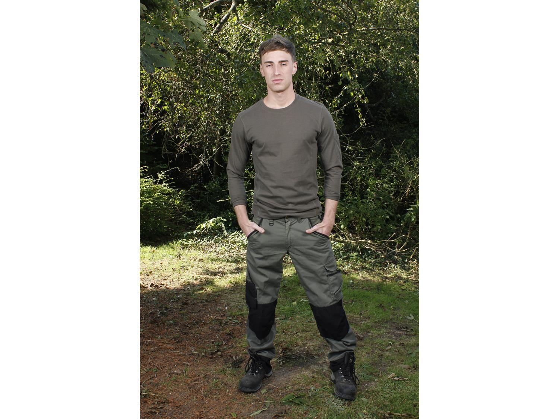 Blaklader Ladies Garden Trouser Army Green//Black