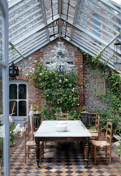 Salle A Manger Ou Jardin D Hiver On Ammenage La Veranda Garden
