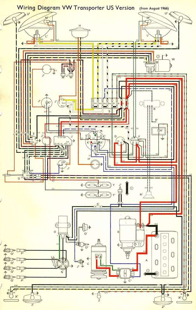 12  76 Vw Bus Engine Wiring Diagram Engine Diagram