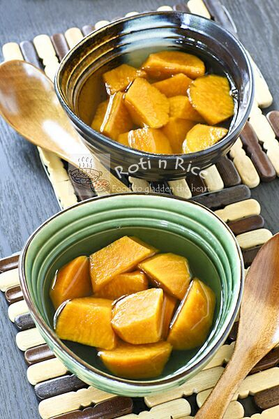 Sweet Potatoes in Ginger Syrup 番薯糖水 ♥ Dessert
