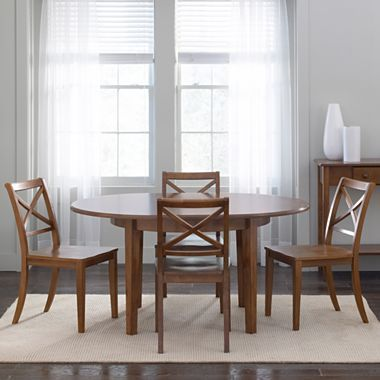 Dining Possibilities Round Table with Xchairs - jcpenney ...