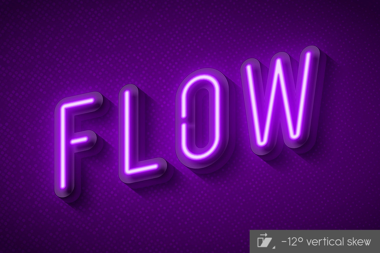3d Neon Light Alphabet Neon Lighting Neon Neon Signs