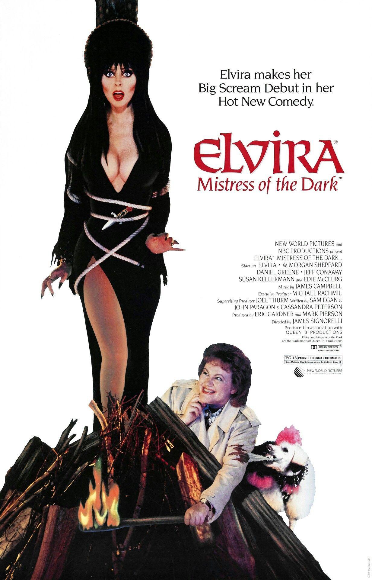 Pin by hil mat on Elvira Mistress of the Dark Elvira