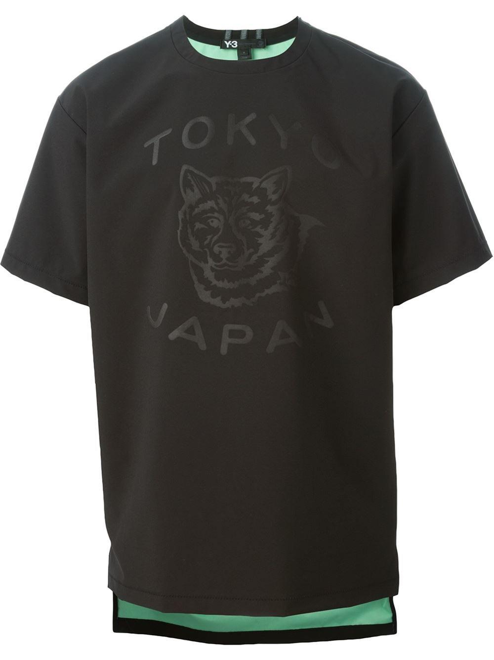 96ad8b0961fc7 Y-3 Tokyo Print T-shirt - Voo Store - Farfetch.com