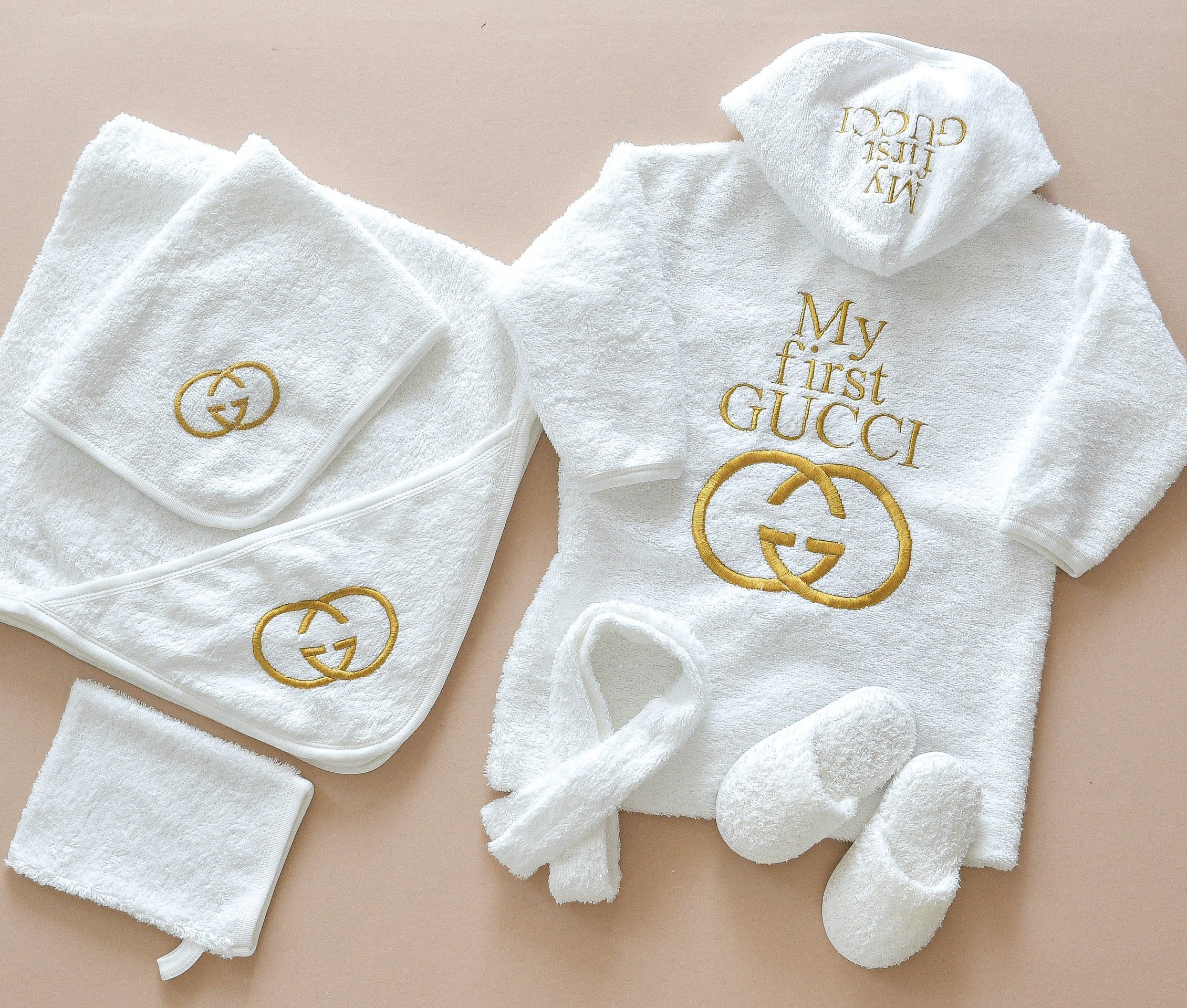 My First Gucci Inspired Newborn Baby Set  Baby outfits newborn