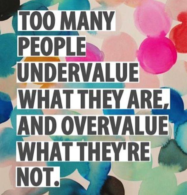 Undervalue/Overvalue