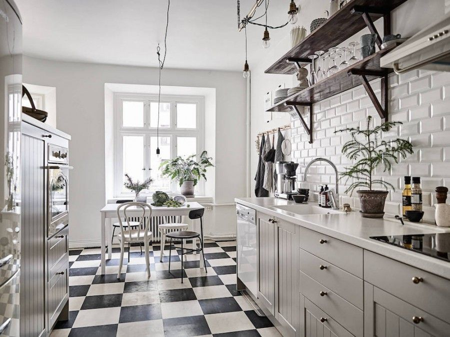 7 black and white checkered floors decor ideas in 2020