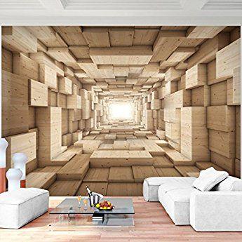Fototapete Holz Optik 352 X 250 Cm Vlies Wand Tapete Wohnzimmer Schlafzimmer  Büro Flur Dekoration Wandbilder