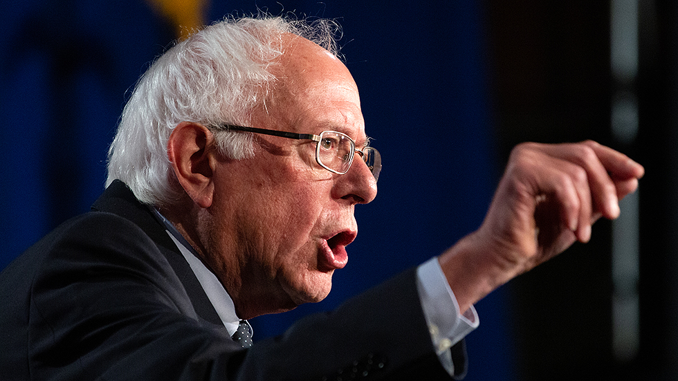 Support For Sen Bernie Sanders I Vt Among College Students Climbed To Its Highest Mark Since April According To A New Weekly Che Bernie Sanders Democratic Presidential Candidates Presidential Primaries Bernie