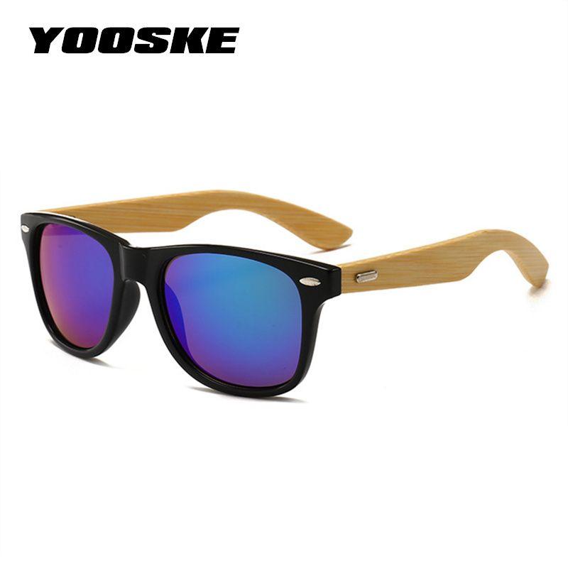 c7cc184333b FOENIXSONG Brand New Designer Womens Sunglasses Bamboo Grain Frame Sun  Glasses for Men Oculos de sol Wooden Pattern Gafas KP1501
