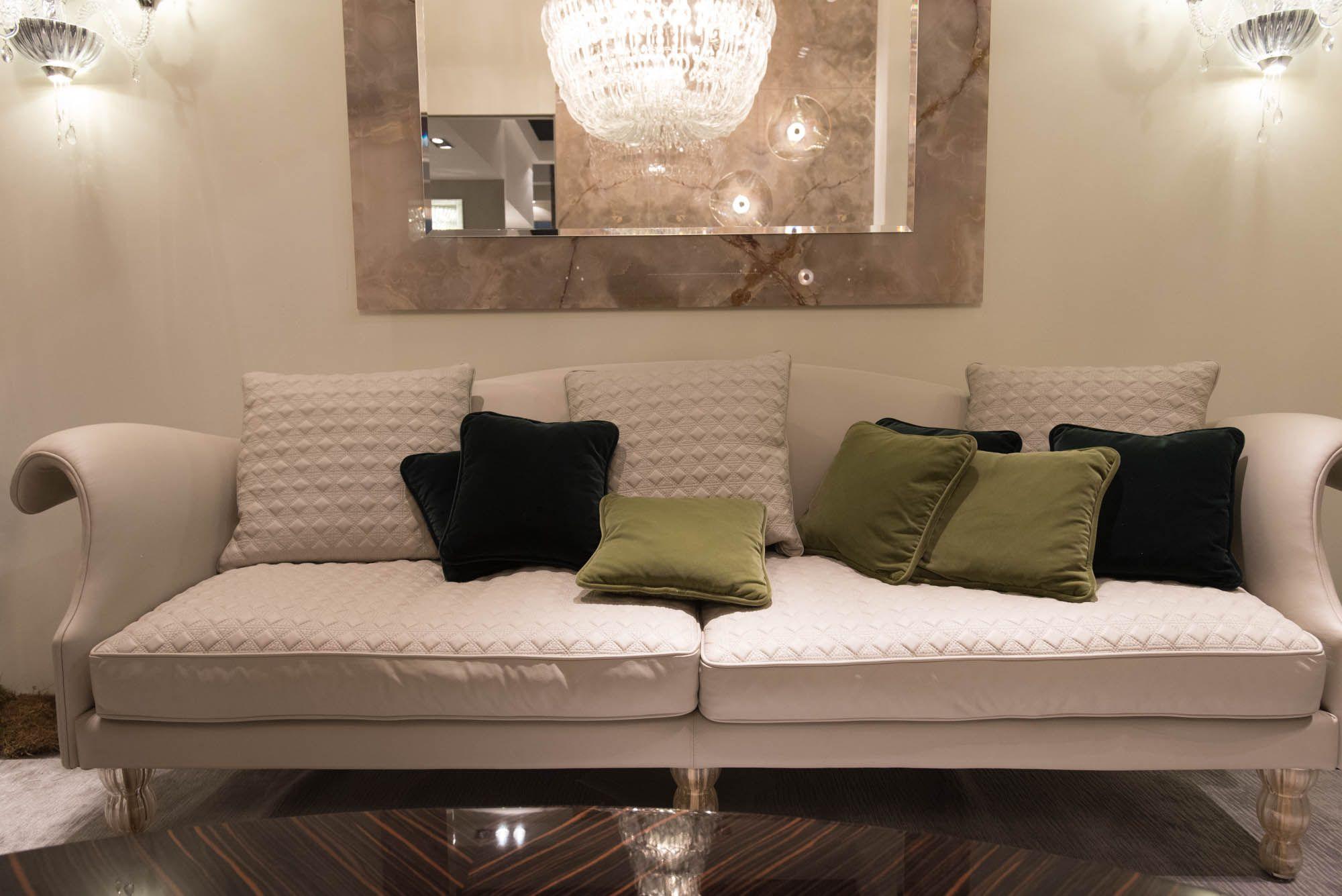 Tendenze arredamento 2017 divani e soggiorni: il meglio dal Salone ...