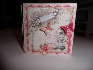 Talleres de Roxana: Meander Book Mini Album o como utilizar los recortes