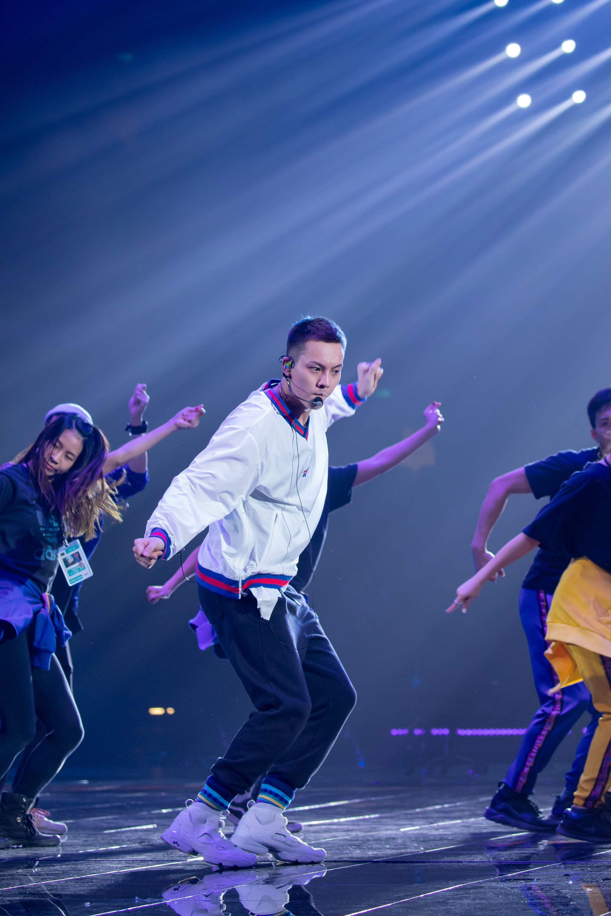 William Chan Jiangsu TV New Year's Eve Concert Rehearsal