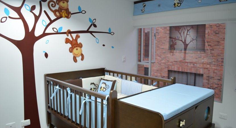 20 estilos e ideas para decorar la habitaci n del bebe for Cuarto de nino recien nacido