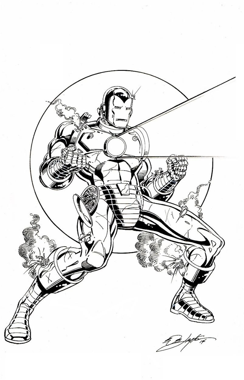 Iron Man by Bob Layton   Iron Man   Pinterest