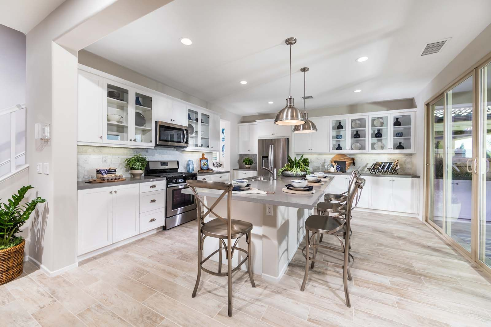 Kitchen Residence 2 Marigold At New Haven In Ontario Ranch Ca Brookfield Residential