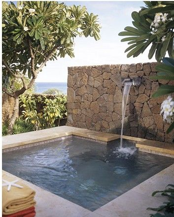 Island Residence Small Backyard Pools Small Pool Design Cool Swimming Pools