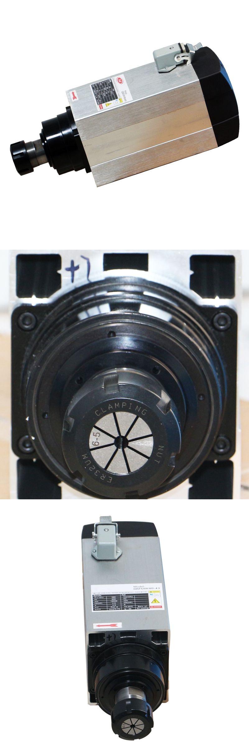 Hot sale 4.5KW air cooled spindle motor 18000RPM ER32 380V
