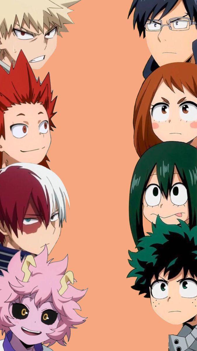 Wallpaper Mha Cute Anime Character Anime Characters Anime Canvas