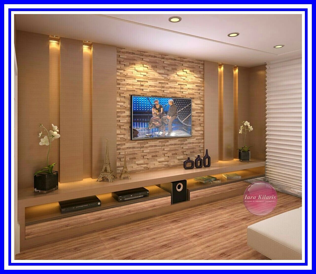 115 Reference Of Modern Tv Wall Design Living Room Wall Decora