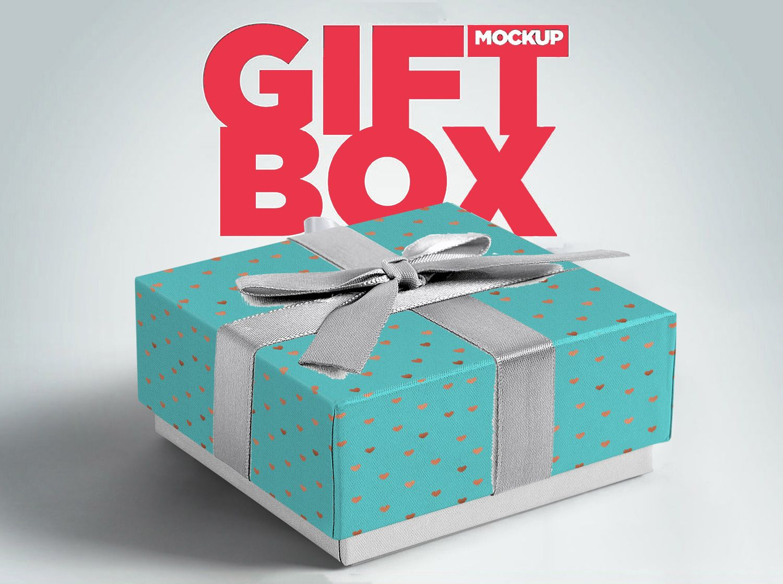 Download Gift Box Free Mockup On Behance Free Mockup Gift Box Packaging Packaging Mockup