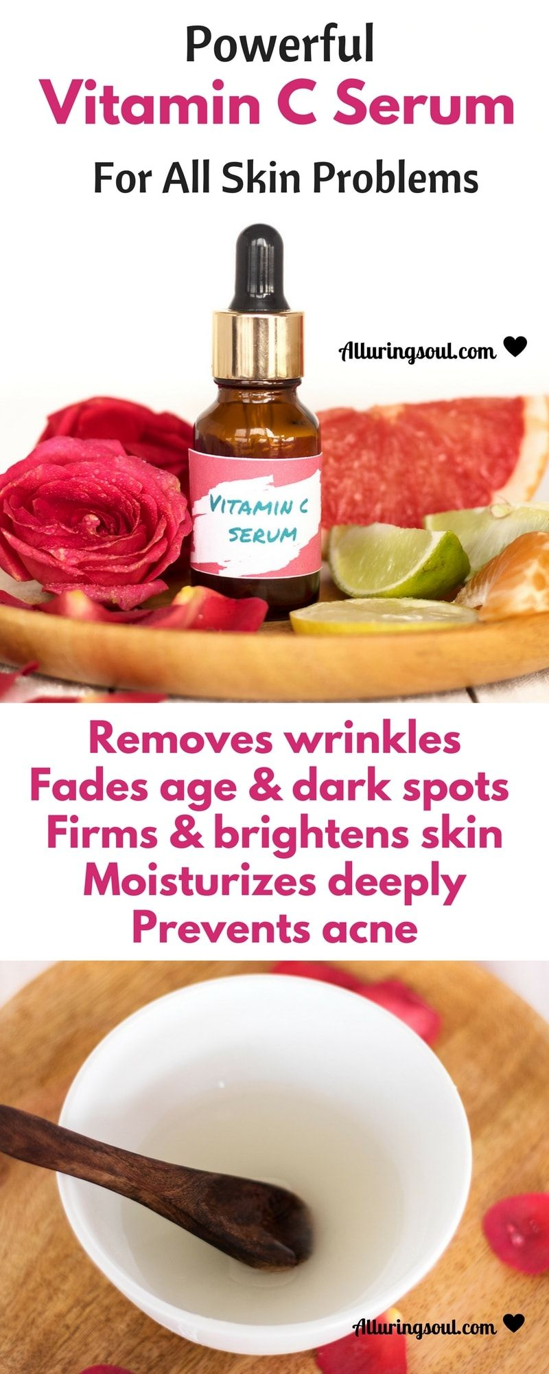 Powerful Vitamin C Serum For Every Skin Problem  Recipe  Acne Skin