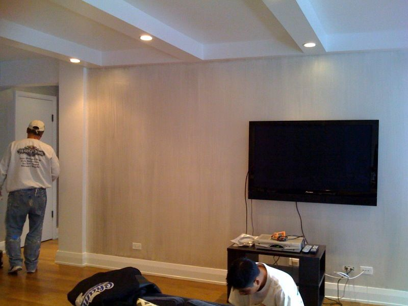 White Pearlescent On Wall Benjamin Moore Love This Paint Color