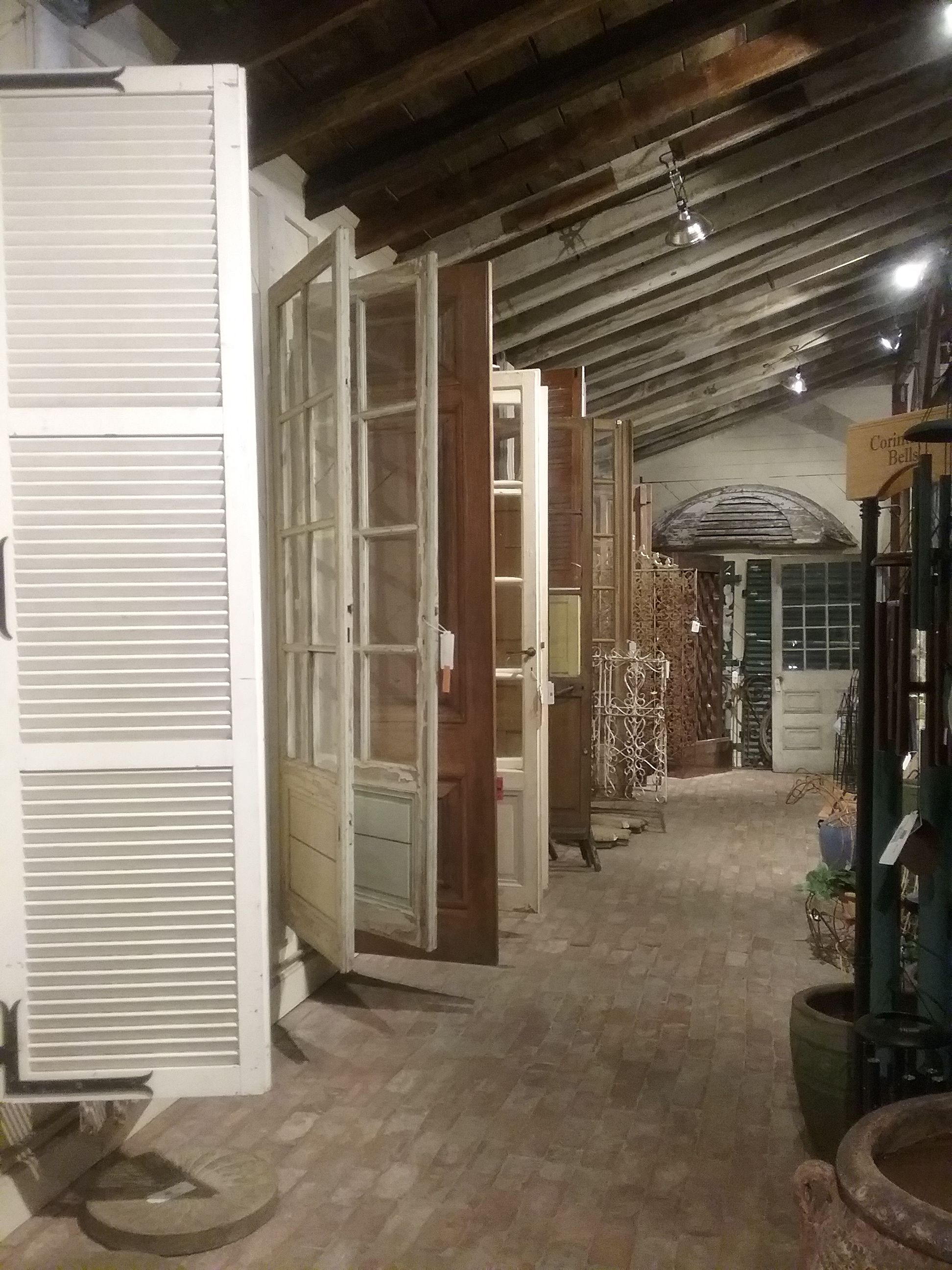 Scores of doors at Palladio Home and Garden stores these are located inside Palladio Garden & Scores of doors at Palladio Home and Garden stores these are ...