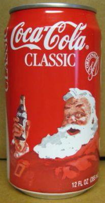 2-Piece Set w Battery-Operated Santa with Coke Machine