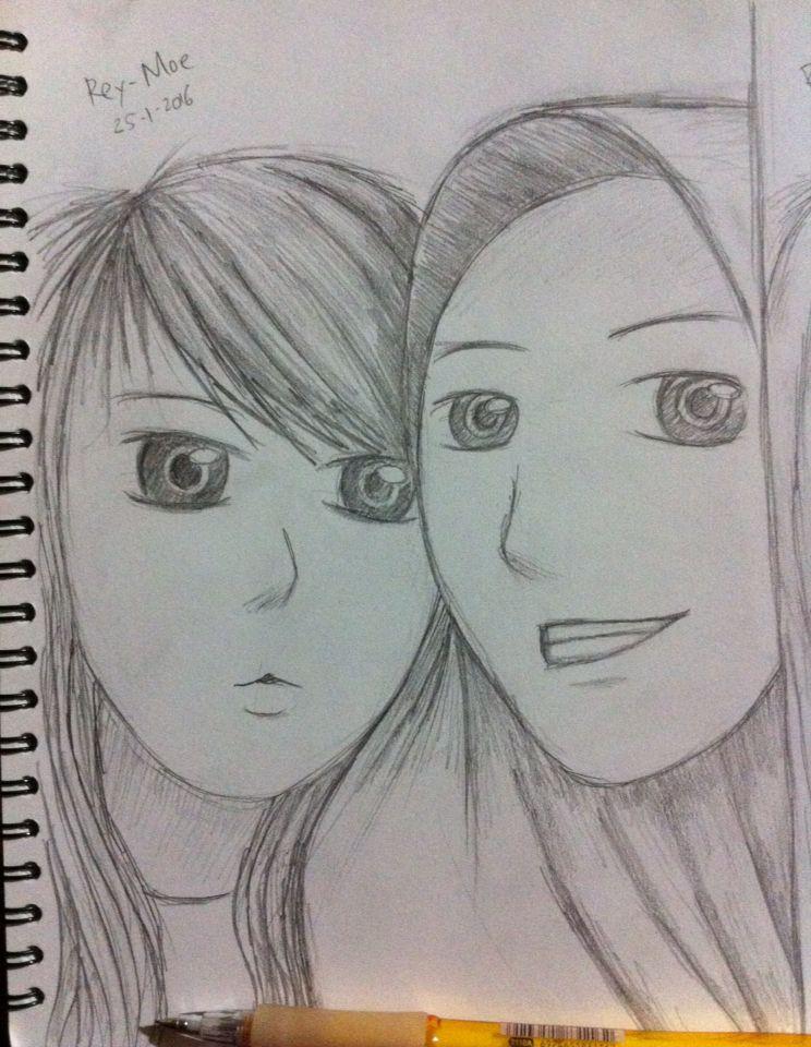 #drawing manga hijab