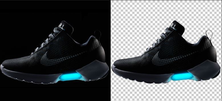 photoshop product photography remove background