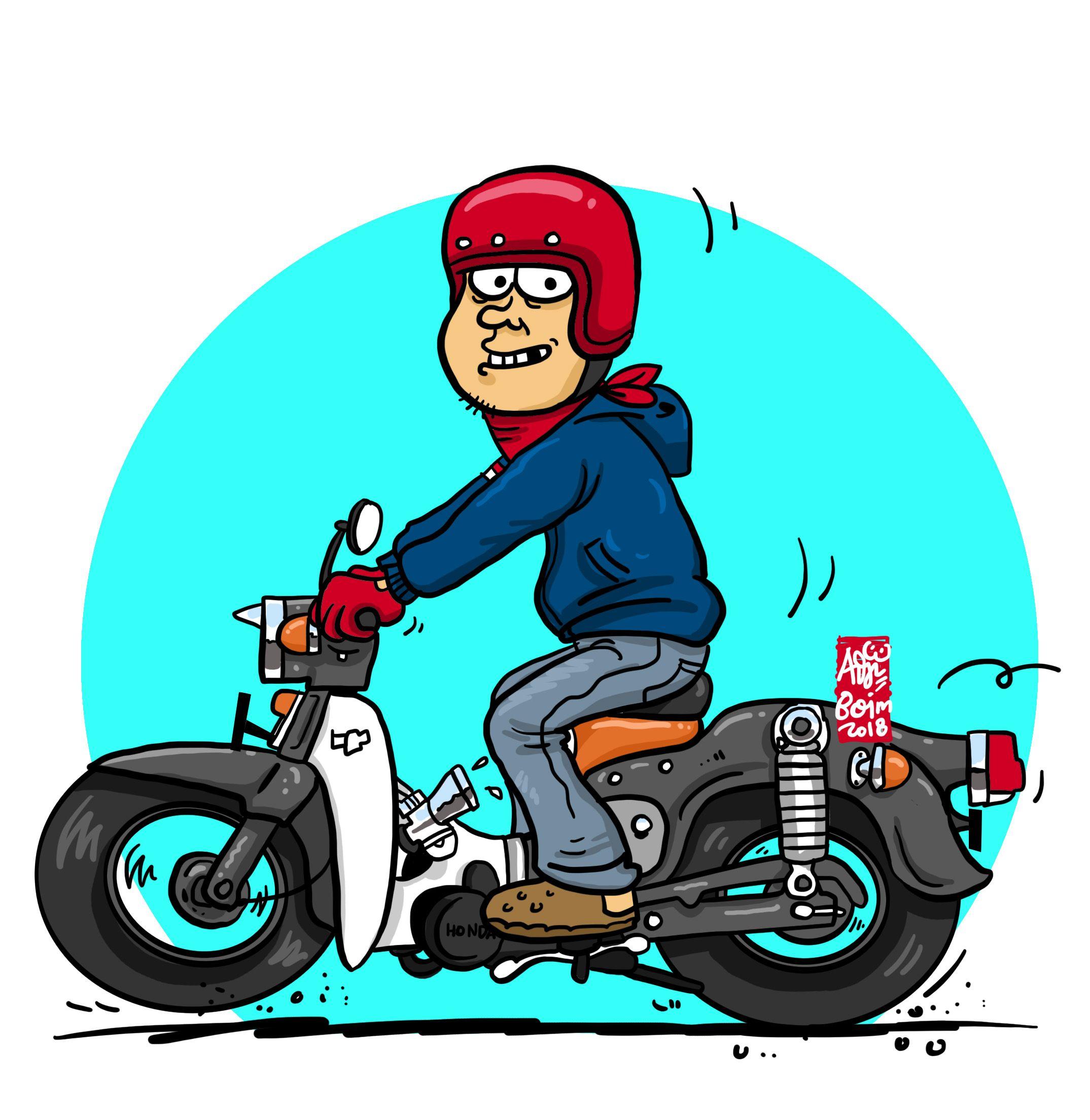 Me N My Black Jack Kartun