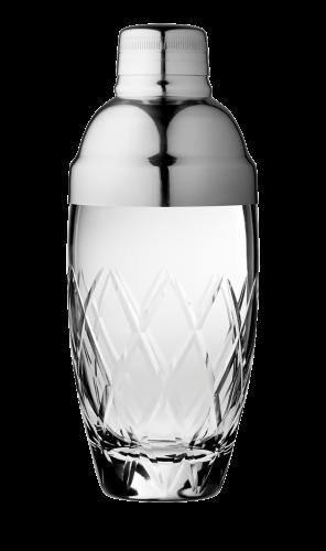 Yarai Glass and Steel shaker 40cl 1