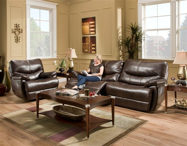 Brahma Motion Dark Brown Sofa And Loveseat 1459 This Luxurious