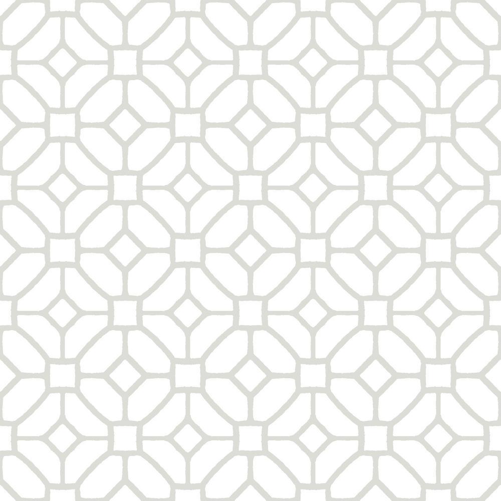 Floorpops Lattice Peel And Stick Floor Tiles 12 In X 12 In 20 Tiles 20 Sq Ft Tfp2946 The Home Depot Peel And Stick Floor Self Adhesive Floor Tiles Stick On Tiles