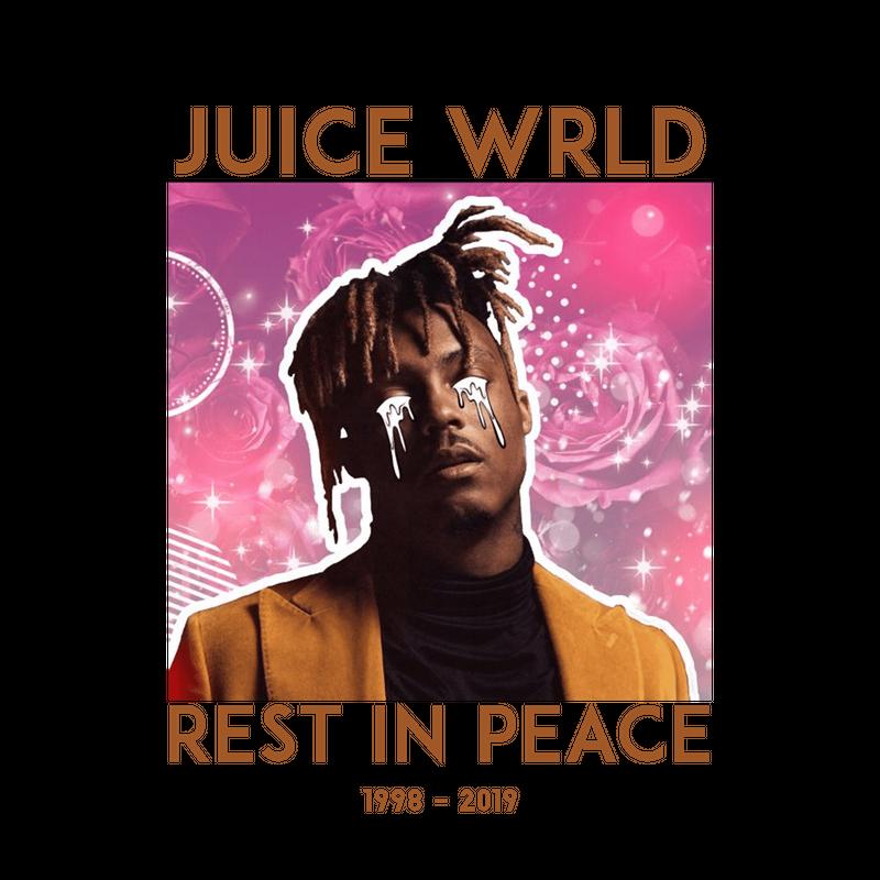 Juice Wrld Sticker By Genyao White 3 X3 Juice Stickers Help Artists