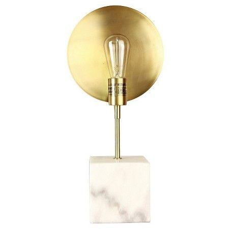 Marble Base Edison Lamp White Threshold Target Edison Bulb Lamp Lamp Bulb