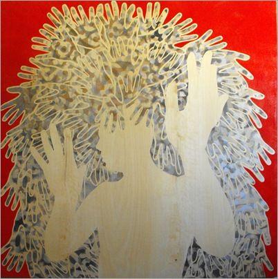 Adrian Baldsing - Changelings exhibition in perth - artist interviews