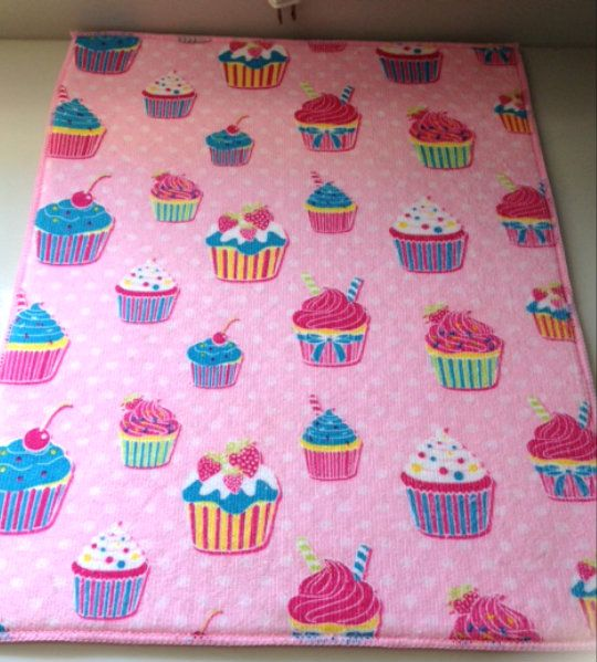 Pink Cupcake Dish Drying Mat My Mom Bought This For Me
