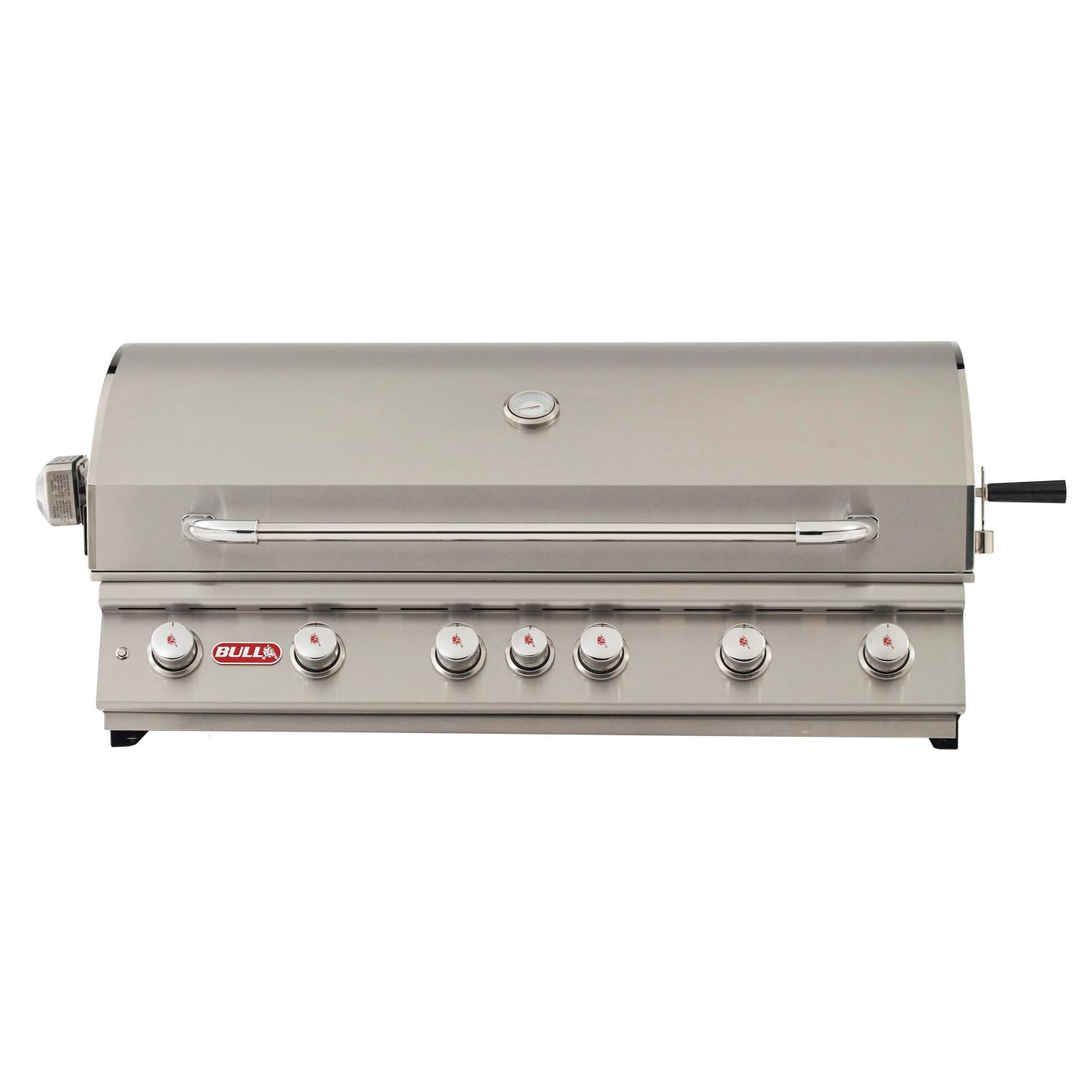Bull Diablo 46 6 Burner Built In Natural Gas Grill With