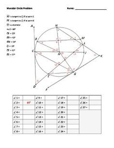geometry worksheet high school