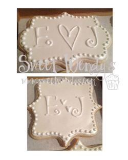 These are so beautiful, and how fun to share on your wedding day!  www.sweetwendys.com