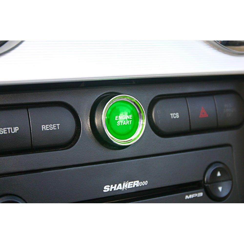 Mustang Silverhorse Racing Push Button Engine Start Kit 2005 2009 Car Accessories For Guys Engine Start Luxury Cars Audi