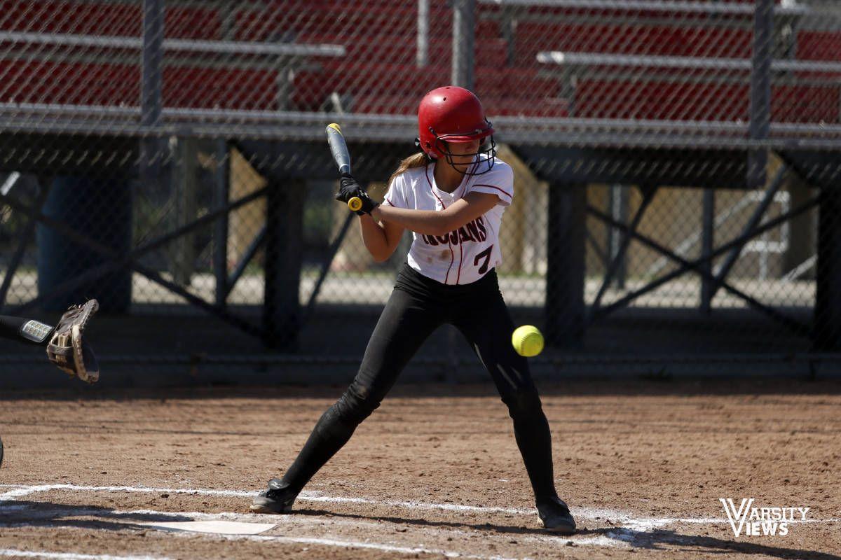 Girls Varsity Softball Center Grove Vs Terre Haute South Vigo Terre Haute Varsity