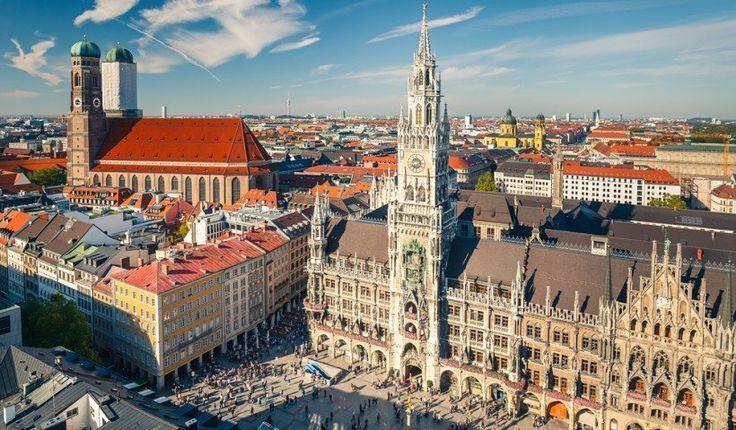 Marienplatz Munchen Deutschland Ciudades Ciudades Germany Marienp Grandes Ciudades Mejores Fotos Reisen Deutschland Reisen Munchen